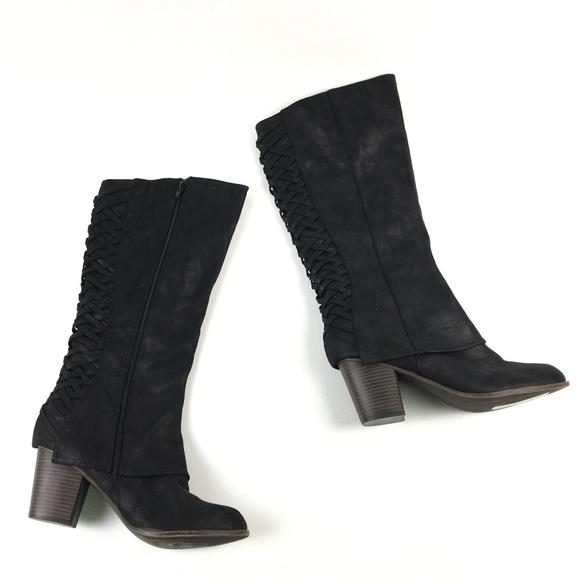 f6ea84f242d Fergalicious Shoes - Fergalicious Womens Knee-High Boots DR01065 Sz 12